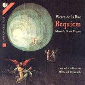 Play & Download LA RUE: Missa pro defunctis / Missa de Beata Virgine (Ensemble Officium, Rombach) by Wilfried Rombach | Napster