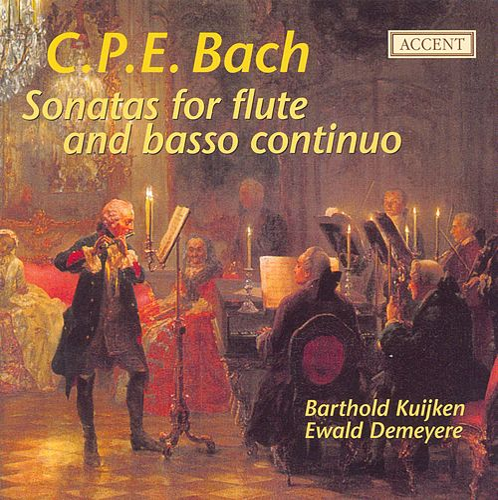Play & Download BACH, C.P.E.: Flute Sonatas (Kuijken) by Barthold Kuijken | Napster