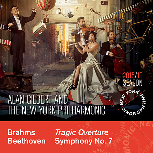Play & Download Brahms: Tragic Overture - Beethoven: Symphony No. 7 by Alan Gilbert | Napster