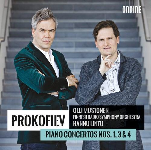 Prokofiev: Piano Concertos Nos. 1, 3 & 4 by Olli Mustonen