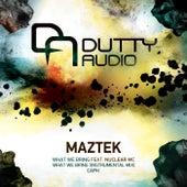 What We Bring by Maztek