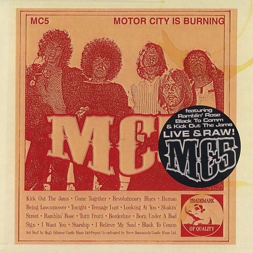 Play & Download Motor City Is Burning by MC5 | Napster