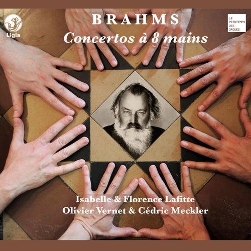 Brahms: Concertos à 8 mains by Olivier Vernet