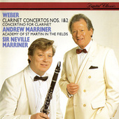 Weber: Clarinet Concertos Nos. 1 & 2; Clarinet Concertino by Andrew Marriner