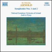Symphonies Nos. 1 and 2 by Sir Malcolm Arnold