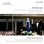 Play & Download A Portrait: Works by Ravel, Tchaikovsky, Dvořák, Weber & Barber by Emalie Savoy | Napster