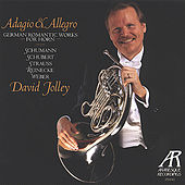 Play & Download German Romantic Works for Horn - Schumann, Schubert, Strauss, Reinecke & Weber by David Jolley | Napster