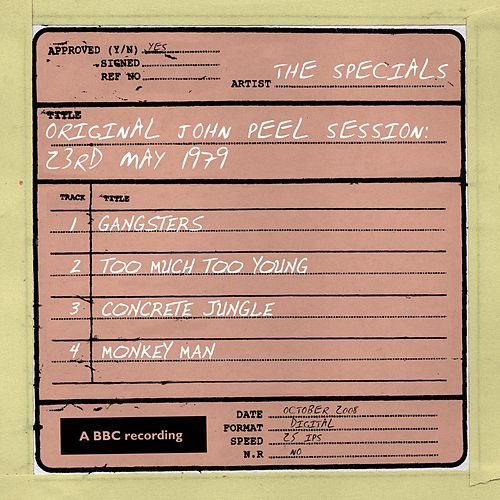 John Peel Session (23 May 1979) by The Specials
