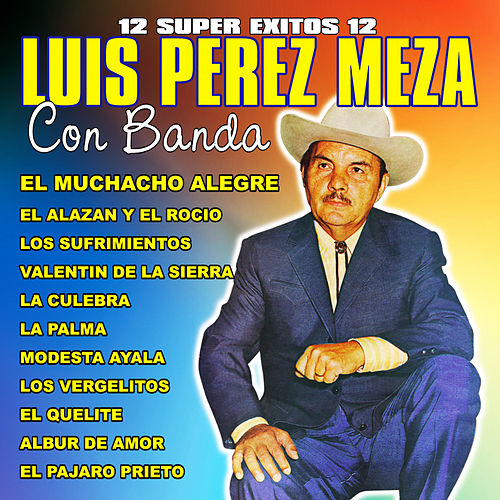 Play & Download 12 Super Exitos Con Banda by Luis Perez Meza | Napster