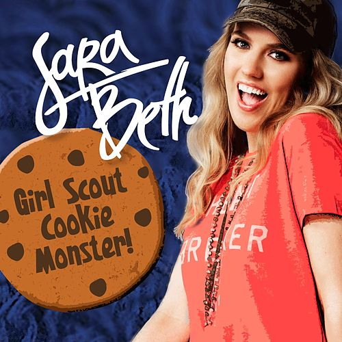 Girl Scout Cookie Monster by Sara Beth