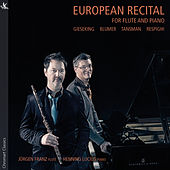 European Recital for Flute & Piano by Jürgen Franz