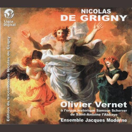 Grigny: Premier livre d'orgue (Messe et hymnes) by Olivier Vernet