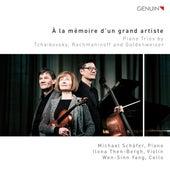 Play & Download À la mémoire d'un grand artiste: Piano Trios by Tchaikovsky, Rachmaninoff & Goldenweiser by Michael Schäfer | Napster