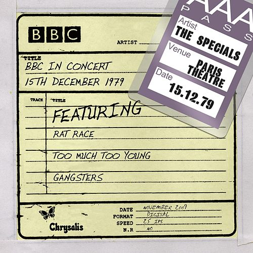 Play & Download BBC in Concert (15 December 1979) by The Specials | Napster
