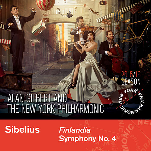 Sibelius: Finlandia & Symphony No. 4 by New York Philharmonic