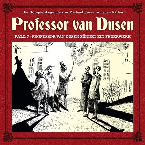 Die neuen Fälle, Fall 7: Professor van Dusen zündet ein Feuerwerk von Professor Dr. Dr. Dr. Augustus van Dusen