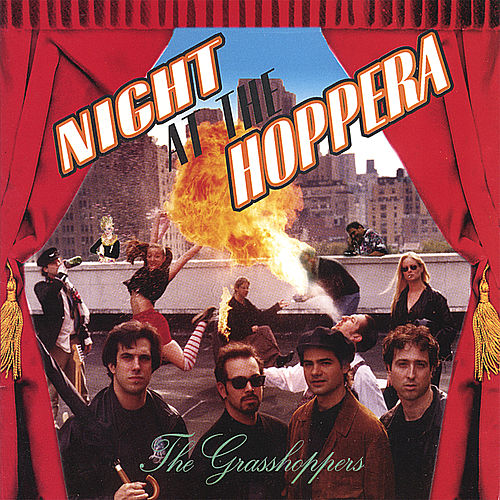 Night At the Hoppera by the grasshoppers