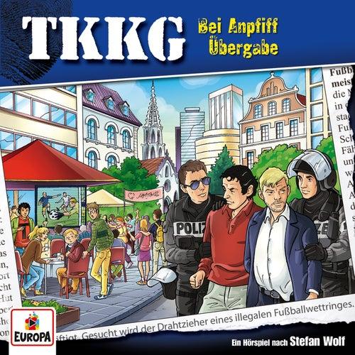 197/Bei Anpfiff Übergabe von TKKG