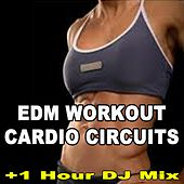 EDM Workout Cardio Circuits (150 Bpm) & DJ Mix (The Best Music for Aerobics, Pumpin' Cardio Power, Crossfit, Plyo, Exercise, Steps, Pilo, Barré, Routine, Curves, Sculpting, Abs, Butt, Lean, Twerk, Slim Down Fitness Workout) by Various Artists
