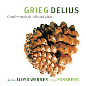 Play & Download Grieg & Delius: Complete Music For Cello And Piano by Julian Lloyd Webber | Napster