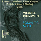 Weber & Hindemith: Romantic Music by Natalia Gutman