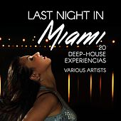 Last Night in Miami (20 Deep-House Experiencias) by Various Artists