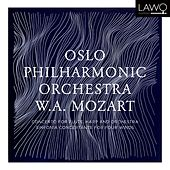 W.A. Mozart: Concerto for Flute, Harp and Orchestra & Sinfonia Concertante for four Winds by Oslo Philharmonic Orchestra