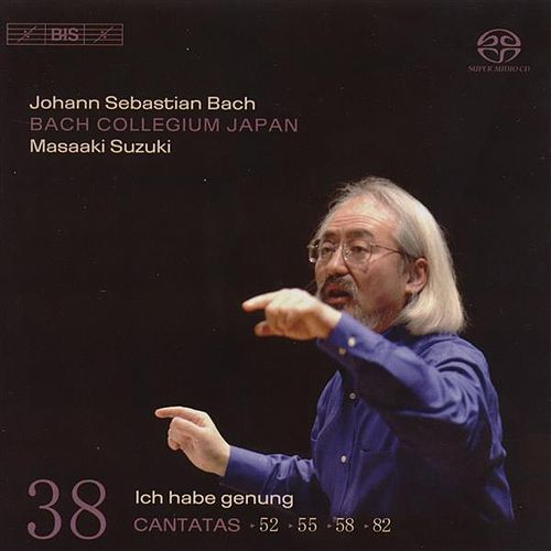BACH, J.S.: Cantatas, Vol. 38 (BWV 52, 82, 55, 58) by Peter Kooij