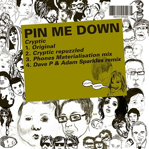 Kitsuné: Cryptic by Pin Me Down