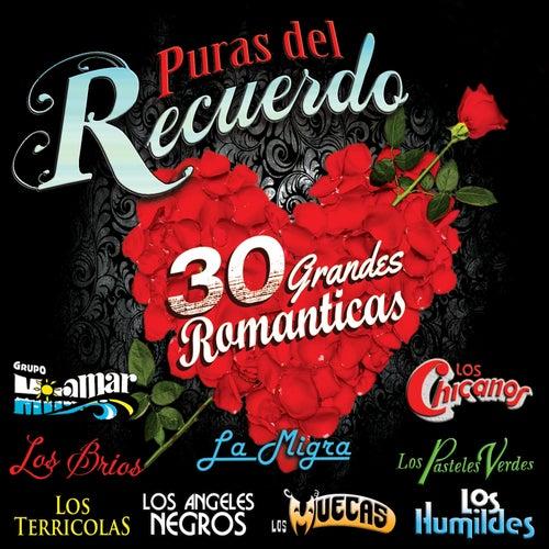 Puras del Recuerdo '30 Grandes Romanticas' by Various Artists