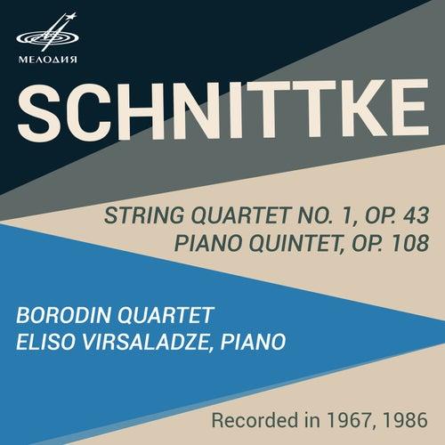 Schnittke: String Quartet & Piano Quintet by Borodin Quartet