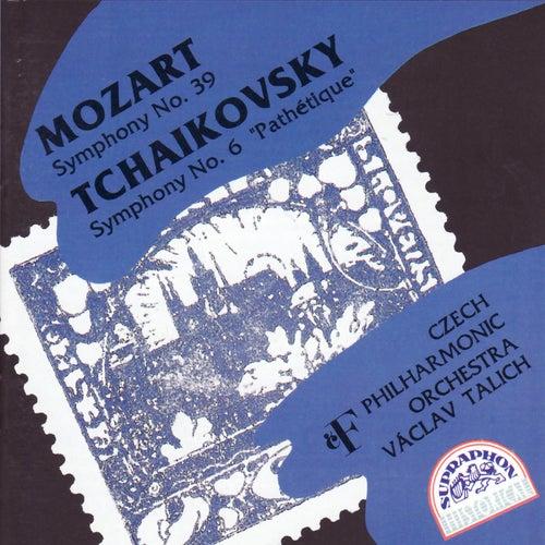 Play & Download Mozart: Symphony No. 39 - Tchaikovsky: Symphony No. 6 by Czech Philharmonic Orchestra | Napster