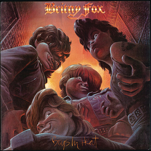 Play & Download Boys In Heat by Britny Fox | Napster