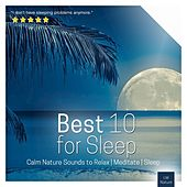 Play & Download Best 10 for Sleep | Calm Nature Sounds to Relax by Various Artists | Napster