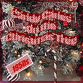Candy Canes On The Christmas Tree 1950s by Various Artists