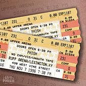 PHISH: 11/07/96 Rupp Arena, Lexington, KY (Live) by Phish