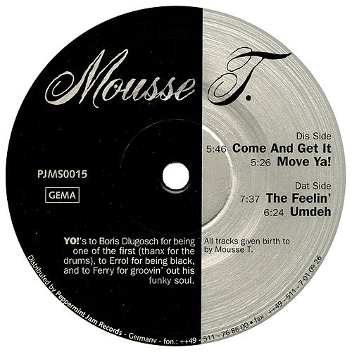 Play & Download Mousse T. EP by Mousse T. | Napster