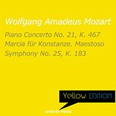 Yellow Edition - Mozart: Piano Concerto No. 21, K. 467 & Symphony No. 25, K. 183 by Various Artists