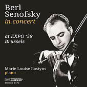 Berl Senofsky in Concert at EXPO '58 Brussels by Marie Louise Bastyns