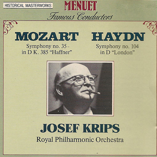 Play & Download Famous Conductors: Josef Krips by Royal Philharmonic Orchestra | Napster