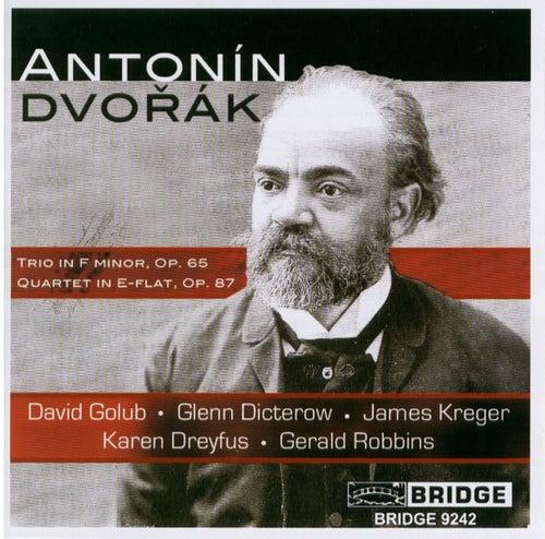DVORAK: Piano Trio No. 3 / Piano Quartet No. 2 by Various Artists