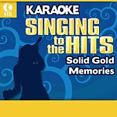 Karaoke: Solid Gold Memories - Singing to the Hits by Various Artists