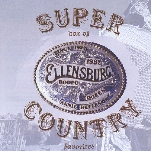 Super Box Of Country - 36 Country Classics From the 50's, 60's, 70's And 80's by Various Artists