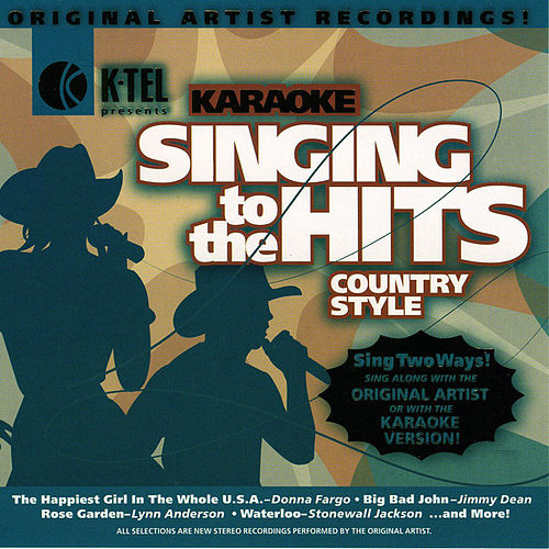 Karaoke: Country Style - Singing to the Hits by Various Artists