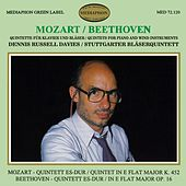 Mozart & Beethoven: Quintets for Piano and Wind Instruments by Stuttgart Wind Quintet