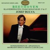Beethoven: Piano Sonatas Ops. 27 & 57 by Josef Bulva