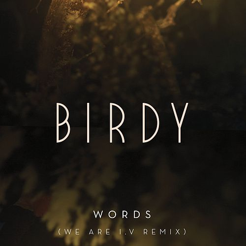 Play & Download Words (We Are I.V Remix) by Birdy | Napster
