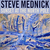 Sunset At the North Pole by Steve Mednick