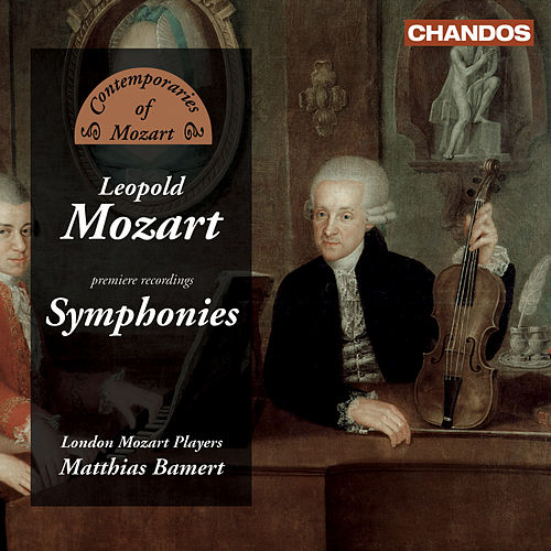 MOZART, L.: Symphonies (London Mozart Players, Bamert) by Matthias Bamert