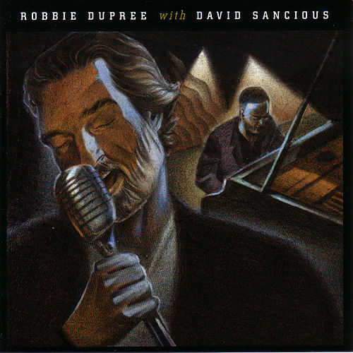 Robbie Dupree with David Sancious by Robbie Dupree
